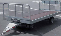 single front swiveling axle trailer max. 2 500 kg | MS1400 MILOCO GROUP