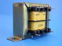 single phase transformer with pin connections for PCBs 3 - 46 VA, 6 - 46 V c2ei
