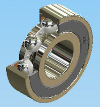 single row deep groove ball bearing ID : 10 - 105 mm, OD : 26 - 225 mm, 1.95 - 184 kN AST Bearings