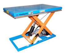 single scissor lift table 500 - 5 000 kg, 550 - 1 100 mm | TR,TL,TB,TM,TA series TRANSLYFT ERGO A/S