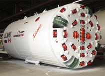 single shield tunnel boring machine (TBM)  Caterpillar Tunnelling Canada Corporation
