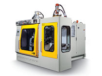 single station blow-molding machine for hollow plastic parts max. 53 kN | MP2L  Meccanoplastica S.r.l.