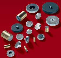sintered ferrite flat pot holding magnet with bore and counterbore DN 16 - 40, max. 100 N MS-Schramberg GmbH & Co. KG