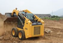 skid steer loader 3 550 kg | CLG385BIII Guangxi Liugong Machinery Co., Ltd.
