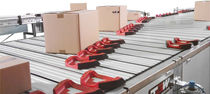 sliding shoe sorter max. 12 000 p/h | NATRIX TGW-Mechanics