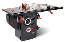 sliding table saw 1.75HP Sawstop