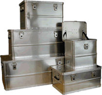 small aluminum container 30 - 147 l, max. 895 x 480 x 390 mm | B METALCONSTRUCT Zrt