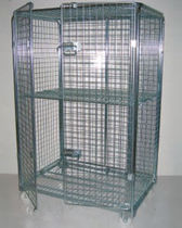 small full-security roll-container 1200 x 800 x 1800 mm | ROLL 1200 x 800 ANTI-THIEF Italfil