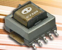 SMD current-sense transformer for electronics 50 - 500 kHz, max. 35 A | CT320 Series Datatronic