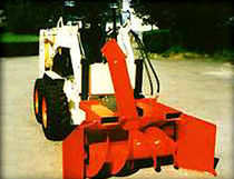 snow blower  GRÜNIG Industriemaschinen