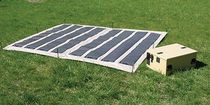 solar charger for military applications 15.4 - 30.8 V, 190 W  Iowa Thin Film Technologies