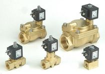 "solenoid valve for compressor 1/4"" - 2"", max. 20 bar JAKSA"
