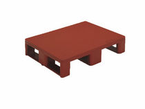solid deck plastic pallet for hygienic applications max. 1 200 x 800 x 160 mm | 33-80xx, 33-12xx, P12xx series Engels Manutention et Environnement