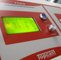solid state power supply for induction heating TGEN Topcast Srl