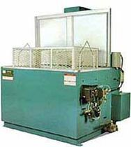solvent dunking cleaning - degreasing machine (immersion)   Magnus Equipment / Power Sonics