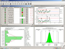 SPC software (statistical process control) Synergy 3000 Zontec Inc.