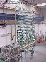 spiral accumulation conveyor BAT-Buffer M.H. Material Handling S.r.l.