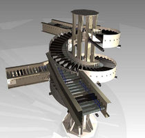 spiral conveyor max. 40 lb/ft | CarterRoll™ CL Carter Control Systems Inc.