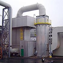 spray scrubber (wet srcubbing) 2 500 - 500 000 cfm | 9500 series bionomicind