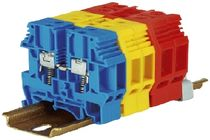 spring loaded DIN-rail terminal block 32 - 57 A | 4 - 10 mm² Elmex Controls Pvt. Ltd.