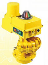 spring-return pneumatic valve actuator  Kinetrol