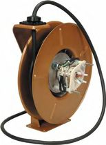 spring rewind electric cable reel max. 75 ft, max. ø 0.875 '' | R70 series United Equipment Accessories