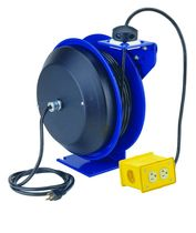 spring rewind electric cable reel 115 - 300 V, 13 - 20 A | PC10 series  COXREELS