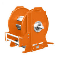 spring rewind hose reel 300 psi | U series  Gleason Reel
