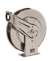 spring rewind stainless steel hydraulic hose reel 11 - 31 m (35 - 100 ft), 35 - 207 bar Reelcraft
