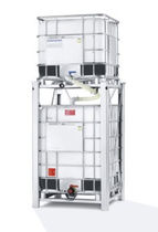 stackable intermediate bulk container (IBC) max. 1 250 l | ECOBULK MX Feeder Schütz
