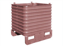 stackable waste disposal container Bin 006  Streator Dependable