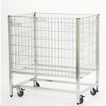 stackable wire mesh container 600 x 800 x 870 mm CADDIE