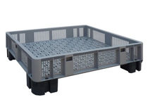 stacking container with ventilated sides 1200 x 1000 x 234 mm, max. 1 500 kg | Cargopallet 280 INTERBOX