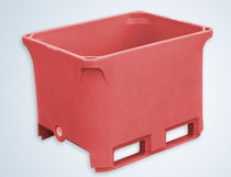 stacking meat container max. 255 L | 300 series Borgarplast