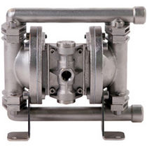stainless steel air operated double diaphragm pump max. 18 l/min (4.8 gal/min) | B06 Blagdon Pump