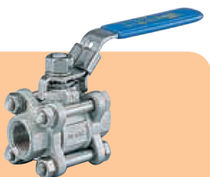 "stainless steel ball valve 1/4"" - 4"", PN 63 SOCLA"
