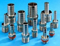 stainless steel barbed coupling max. 1000 psi | A series ANVER Vacuum System Specialists