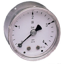 "stainless steel Bourdon tube pressure gauge 1/8"" - 1/4"", max. 60 bar AirCom Pneumatic"