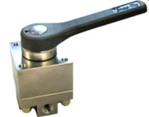 "stainless steel directional control valve 1/4""- 1"", max. 345 bar 
