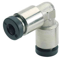 stainless steel elbow push-in fitting max. 16 bar | FOX series Schneider Druckluft GmbH