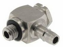 stainless steel elbow threaded fitting M5LS Beswick Engineering Co, Inc.