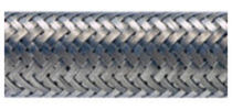 stainless steel flexible conduit with braided steel sleeving 12 - 32 mm, IP40 | SSB series ADAPTAFLEX