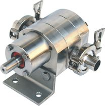 stainless steel gear pump 1.5 - 1 330 cc/rev, max. 30 bar | S series Ultra Pompe S.r.l.