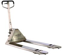 stainless steel hand pallet truck  Mobile Industries Inc