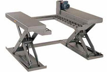 stainless steel lift table max. 1 200 kg  Power-Lifts Limited