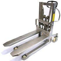 stainless steel manual hydraulic stacker 300 696 TELIP
