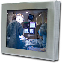 "stainless steel panel PC for medical applications 15"", 17"", 19"", IP65 ADM electronic GmbH"