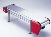 stainless steel process conveyor belt max. 5 000 x 1 500 x 1.5 mm | DW series DYMCO. LTD.