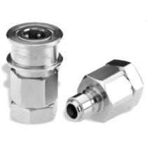 "stainless steel quick coupling 1/4"" - 4"", max. 207 bar 