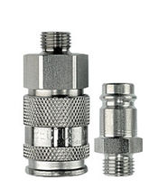 stainless steel quick coupling for low pressure DN 2.7 - 10, 35 bar | 27KA series RECTUS TEMA